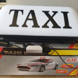 Taxi Magnetic Dome Medium Size